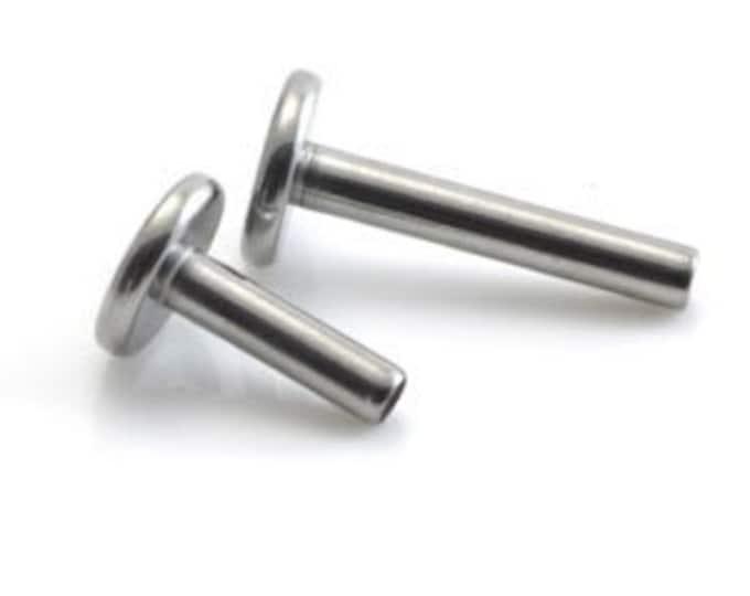 Basic Internally Threaded Titanium Labret - 1.2mm (16 gauge) -  Labret Stud