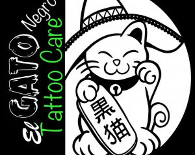 El Gato Negro - The Black Cat - Tattoo Aftercare