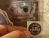 Sticker exclusivo Chase Glow in the Dark, para Funko pop