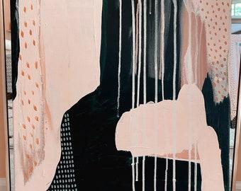 Abstract wall art, original painting