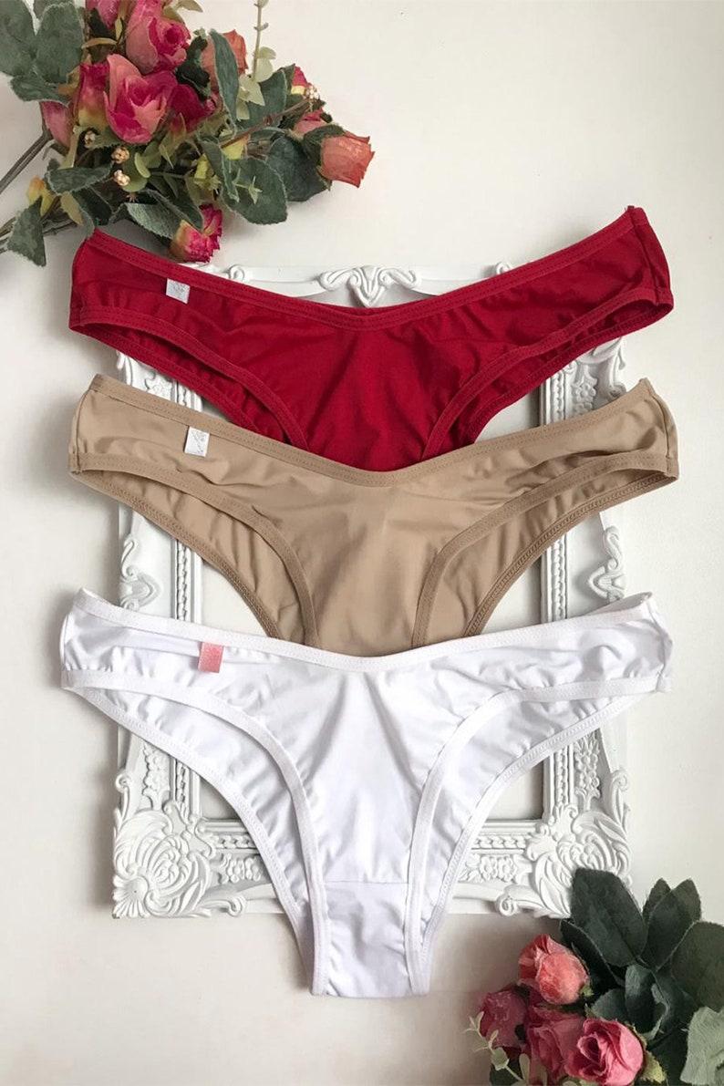 3 Pack Brazilian Style Panties