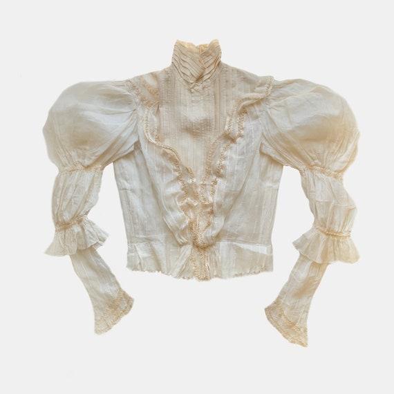 Antique Victorian Regal Blouse