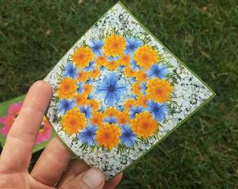Single Floral Sticker (three options)