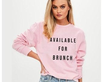Wine Graphic Sweatshirt Crew Neck Sweatshirt Funny Sweatshirt Brunch Wine Nap Sweatshirt Nap Black Hand-Lettered Design Brunch