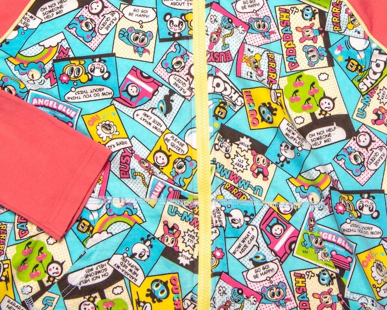 Angel Blue Pink Hoodie Classic Y2K Japanese Brand.