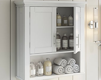 Bathroom Wall Cabinet Etsy