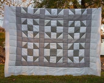 Handsewn Quilt, Traditional Quilt, Cotton Quilt, Gee's Bend Quilt, Quilt, Tapestry Quilt, Tapestry