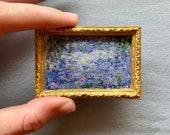 Monet Waterlilies - Cross Stitch Pattern