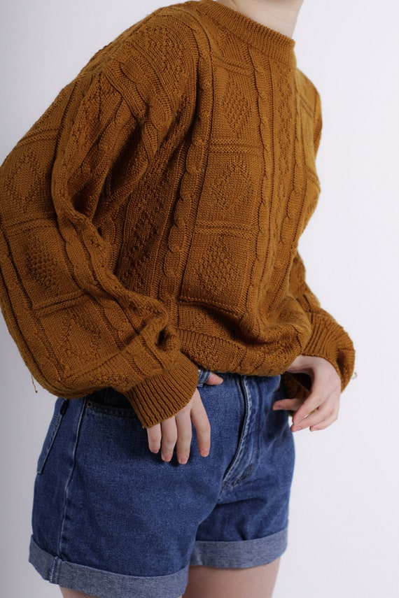 Cottagecore sweater, Comfy Vintage Sweater, Oversi