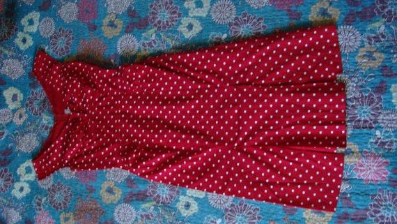 rockabilly 1950's polka dots  pin up