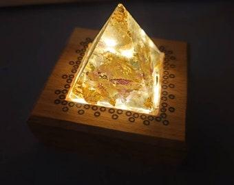 Small Pyramid light