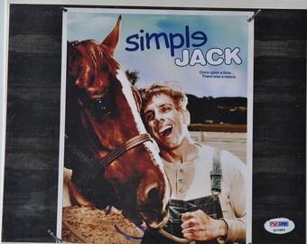 BEN STILLER SIGNED Photo - Simple Jack - Tropic Thunder w/coa