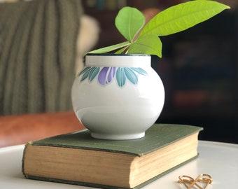 Vintage Mid Century Modern Dansk Jens Quistgaard Gray Porcelain Vase MCM Dansk Vase Made in Japan