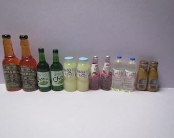 1:6 Dollhouse Miniature Bottle Baileys// Miniature Alcohol D69
