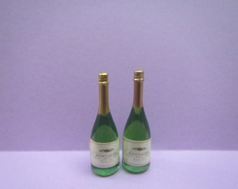1:12 Scale Dollhouse Miniature Champagne on Ice