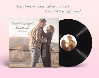 "Create Your Own Custom 12"" Vinyl Record"