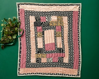 House of Harlow 1960 x Gee's Bend Creator Collab Holiday Quilt, Handmade, Handsewn Quilt
