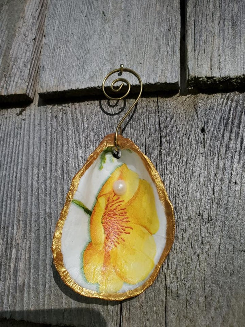 Oyster Ornaments Nautical Shells Gifts Spring mothers days *45 Cape Cod