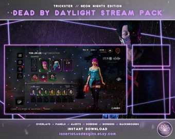 Dead By Daylight // Trickster – Stream Overlay Package