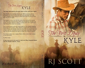Signed paperback of Kyle (Legacy 1)