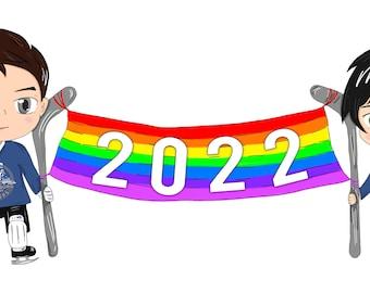 2022 Chibi Diary, 2022 Chibi Desk Calendar