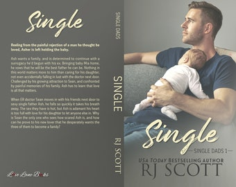 Signed paperback of Single (Single Dads, Book 1)