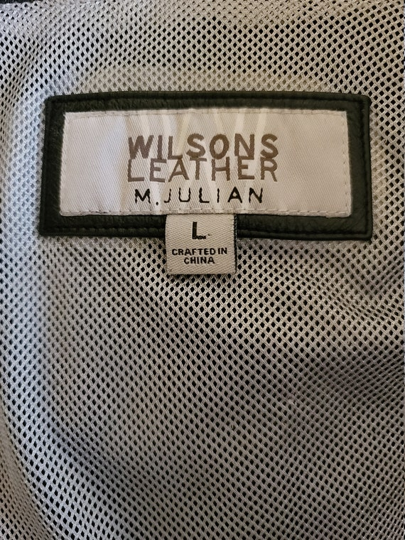 Wilsons Leather Moto Jacket - image 3