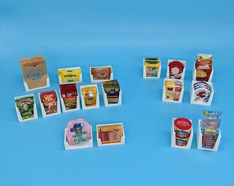 Mini Brands Holder for Cheese, Candy, Pez, Caramels, Bacon, Toys, Bags, etc