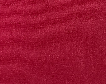 Cranberry Velvet - Upholstery Weight - Really Rich Color!!