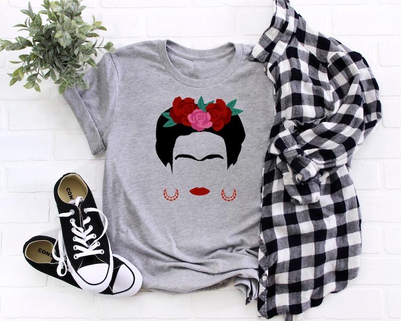 Frida Kahlo Shirt Frida Shirt Frida Personalized Shirt image 0
