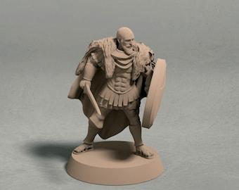 "Alexos ""The Wolf"" – 3D printed miniature"