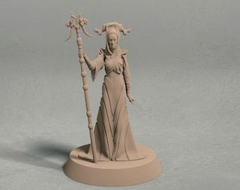 "Selene ""The Night's Mistress"" miniature - 3D printed tabletop miniature"