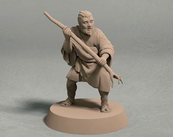 "Hector ""The Broken"" miniature – 3D printed miniature"
