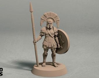Realm of Eros captain miniature – 3D printed miniature
