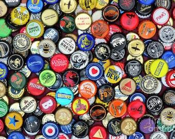 500 Assorted Beer Bottle Caps Including Micro and Macro Breweries. Beer Map Caps, Craft Bottle Caps.