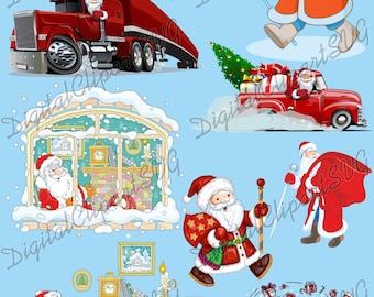 Cricut -Silhouette Santa Hat Svg Santa Boots Svg Christmas Svg Boy Santa Svg Santa Legs Svg Christmas Svg Girl Santa Claus Svg