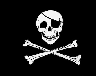 Pirate Display Banner Sign To Arr is Pirate Flag Large 5 x 3 FT To Err is Human