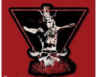 Am I Demon Die Cut Sticker Vinyl Decal / Flexible Magnet - Danzig Die Cut Sticker