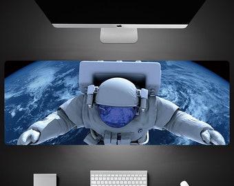 NASA Astronaut Moon Space Themed JUMBO Oversized Desk Mat Mouse Pad CUSTOM Orders