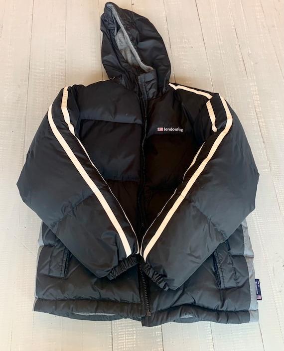 Vintage black puffer jacket London Fog