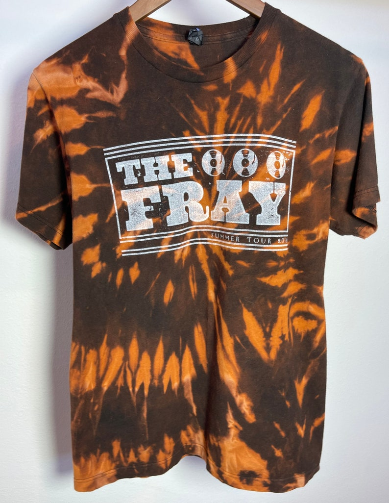 Bleached Vintage THE FRAY Summer Tour 2012 T-Shirt