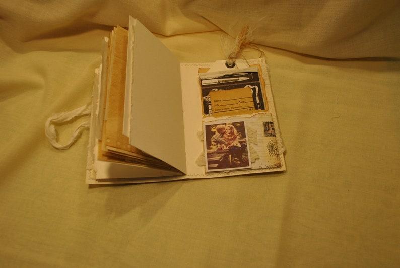 Vintage Style Keepsake Journal