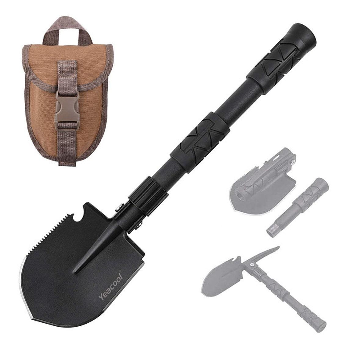Camping Shovel Foldable, Folding Trench Shovel