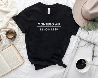 Jamaica Montego Air Flight 828 Mens Womens Manifest Premium T-Shirt