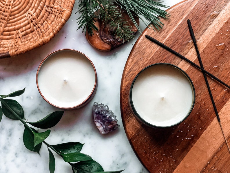 Rainstorm Hand Poured 100/% Natural Soy Wax Candle.