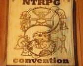 Rustic RPG Sign
