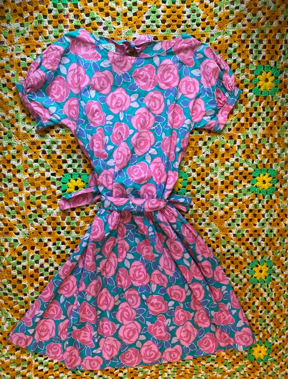 80's vintage Laura Ashley dress