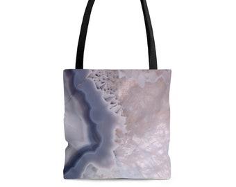 Green Agate Tote Bag Beach Tote Grocery Bag Summer Tote Bag Market Tote Agate Fashion Pretty Beach Bag Beach Bag