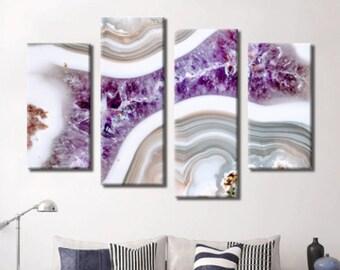 Marble Photo, Marble Art, Marble Print, Marble Art Print, Purple Marble, Purple Marble Art, Purple Marble Print, Purple Wall Hanging