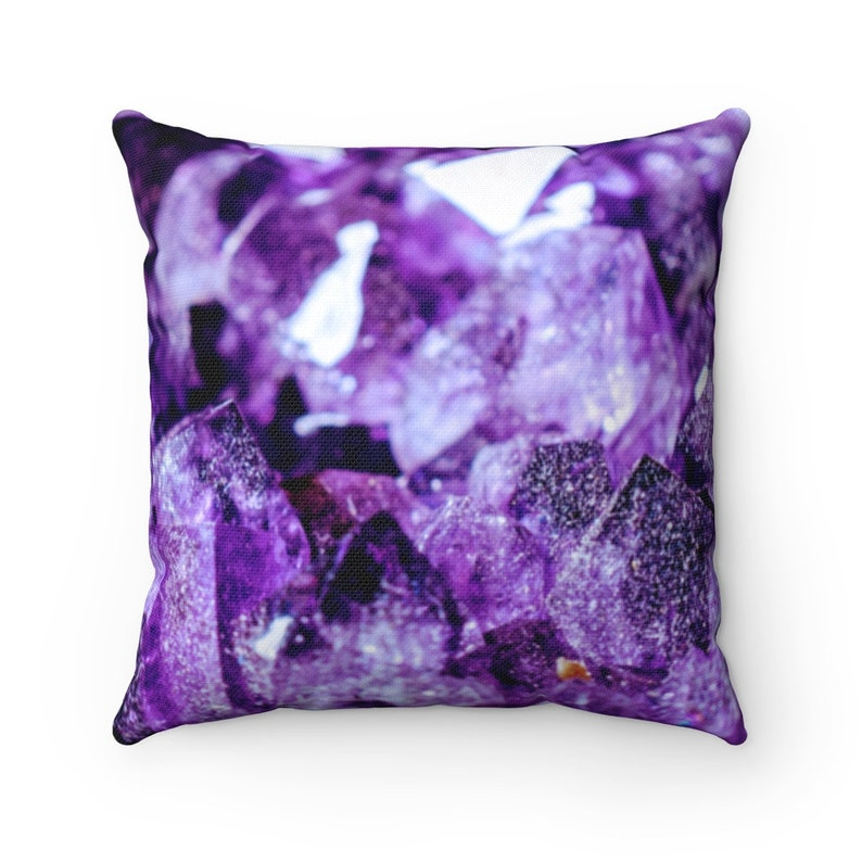 Purple Pillow Geode Pillow Art Pillow Throw Pillow Purple Marble Pillow Purple Art Pillow Purple Geode Pillow Marble Pillow